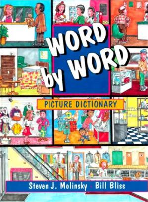 Book cover Word by word picture dictionary