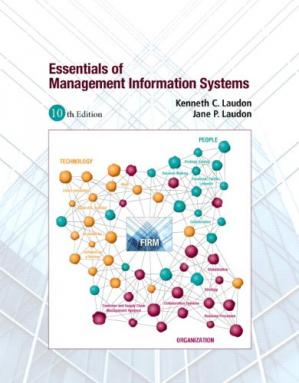 Book cover Essentials of Management Information Systems