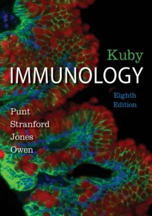 Book cover Kuby Immunology