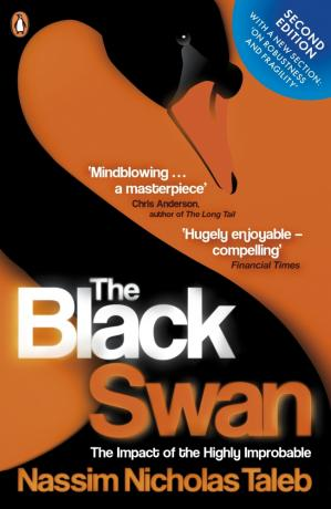 Book cover The black swan: the impact of the highly improbable