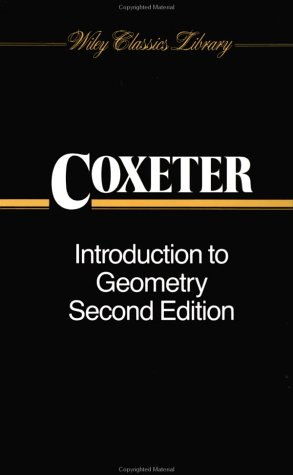 Buchdeckel Introduction to geometry