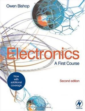 Обложка книги Electronics: a first course