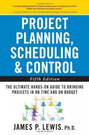 Sampul buku Project Planning, Scheduling & Control