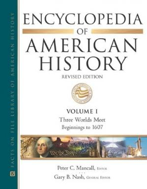 Book cover Encyclopedia of American History (11 volume set)