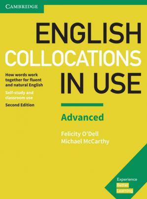 Kitabın üzlüyü English Collocations in Use Advanced