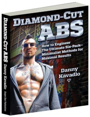 ปกหนังสือ Diamond-Cut Abs: How to Engineer the Ultimate Six-Pack—Minimalist Methods for Maximal Results