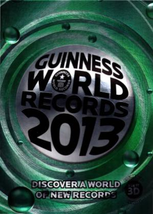 Book cover Guinness World Records 2013