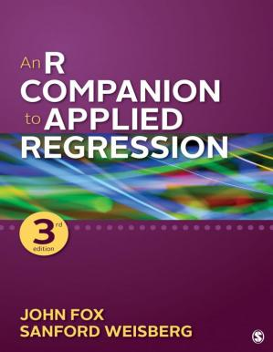 Book cover An R Companion to Applied Regression