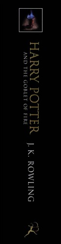 Book cover Harry Potter and the Order of the Phoenix (UK)