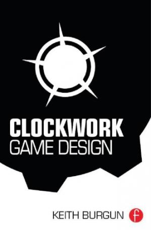 বইয়ের কভার Clockwork Game Design