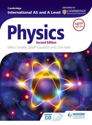 Book cover Cambridge International AS and A Level Physics, 2nd edition