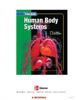 Book cover Glencoe Science: Human Body Systems, Student Edition