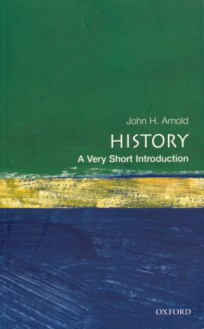 Book cover History: A Very Short Introduction
