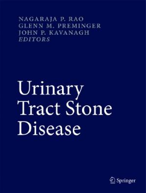 A capa do livro Urinary Tract Stone Disease