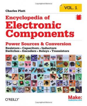 Portada del libro Encyclopedia of Electronic Components Volume 1: Resistors, Capacitors, Inductors, Switches, Encoders, Relays, Transistors