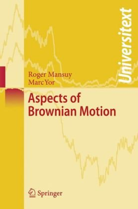 Book cover Aspects of Brownian motion