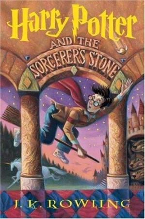 Couverture du livre Harry Potter and the Sorcerer's Stone