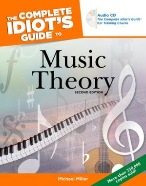 غلاف الكتاب The complete idiot's guide to music theory