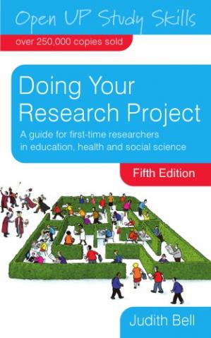 Okładka książki Doing Your Research Project: A Guide for First-Time Researchers in Education, Health and Social Science