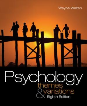 Portada del libro Psychology: Themes and Variations (with Concept Charts)