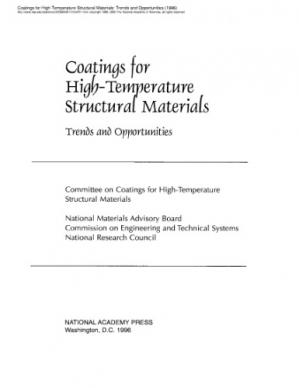 Okładka książki Coatings for high-temperature structural materials : trends and opportunities