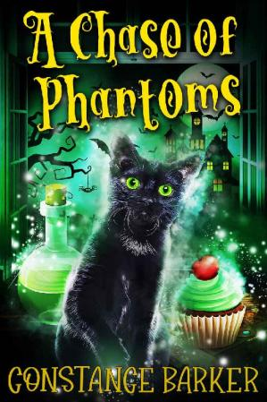 Book cover A Chase of Phantoms (The Haunted Bakery Witch Mystery Series Book 1)