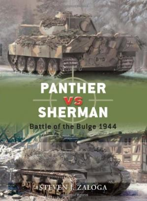 Book cover Panther vs Sherman: Battle of the Bulge, 1944
