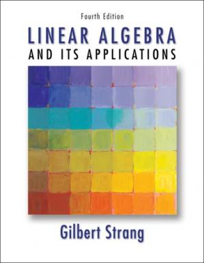 Book cover Linear Algebra and Its Applications (4ed)