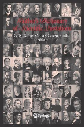 Book cover Gaither's Dictionary of Scientific Quotations