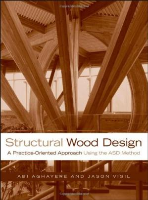 Sampul buku Structural Wood Design: A Practice-Oriented Approach
