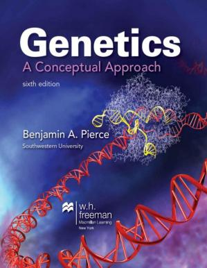 Book cover Genetics: A Conceptual Approach