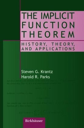 Book cover The implicit function theorem: history, theory, and applications