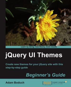 Εξώφυλλο βιβλίου JQuery UI Themes Beginner's Guide