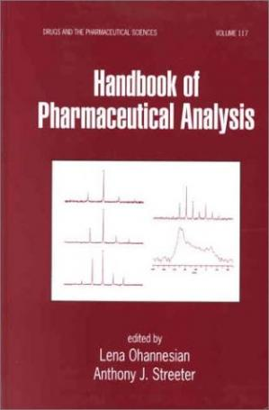 Couverture du livre Handbook of Pharmaceutical Analysis