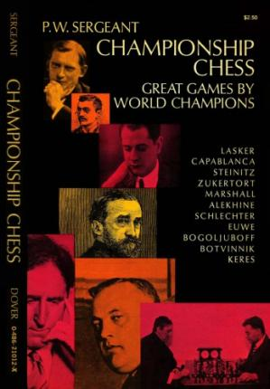 Book cover Championship chess