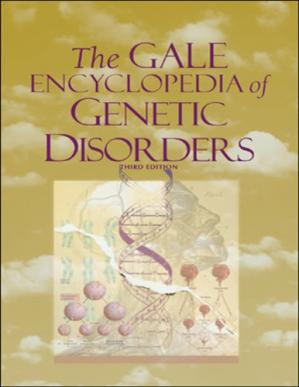Book cover The Gale Encyclopedia of Genetic Disorders
