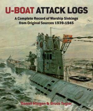 A capa do livro U-Boat attack logs : a complete record of warship sinkings from original sources 1939-1945