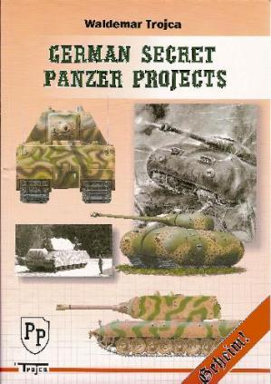 Book cover German Secret Panzer Projects