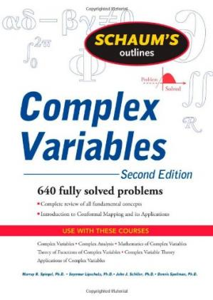Okładka książki Schaum's Outline of Complex Variables, 2ed (Schaum's Outline Series)