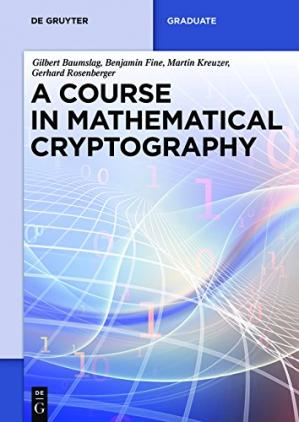 Buchdeckel A Course in Mathematical Cryptography