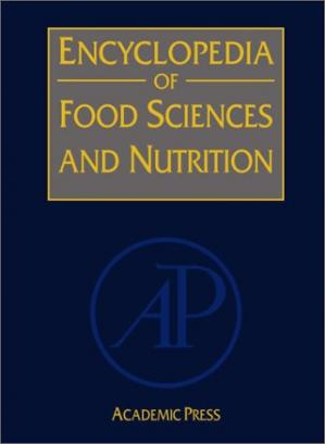 पुस्तक कवर Encyclopedia of food sciences and nutrition