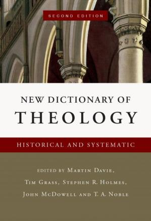 A capa do livro New Dictionary of Theology: Historical and Systematic