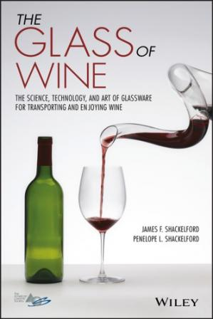 A capa do livro The glass of wine : the science, technology, and art of glassware for transporting and enjoying wine