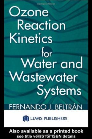 Book cover Ozone Reaction Kinetics for Water and Wastewater Systems