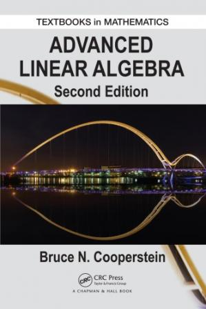 Book cover Advanced linear algebra