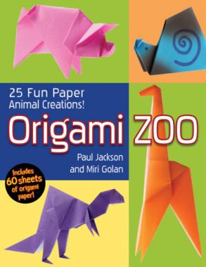 Book cover Origami Zoo: 25 Fun Paper Animal Creations!