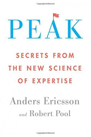 Portada del libro Peak: Secrets from the New Science of Expertise