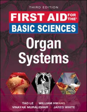 Εξώφυλλο βιβλίου First Aid for the Basic Sciences: Organ Systems