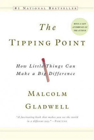 Okładka książki The Tipping Point: How Little Things Can Make a Big Difference