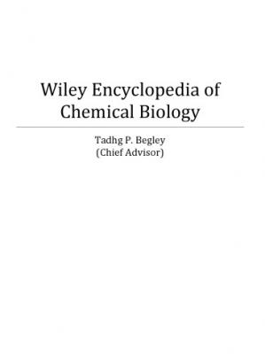 पुस्तक कवर Wiley Encyclopedia of Chemical Biology [4 vols]